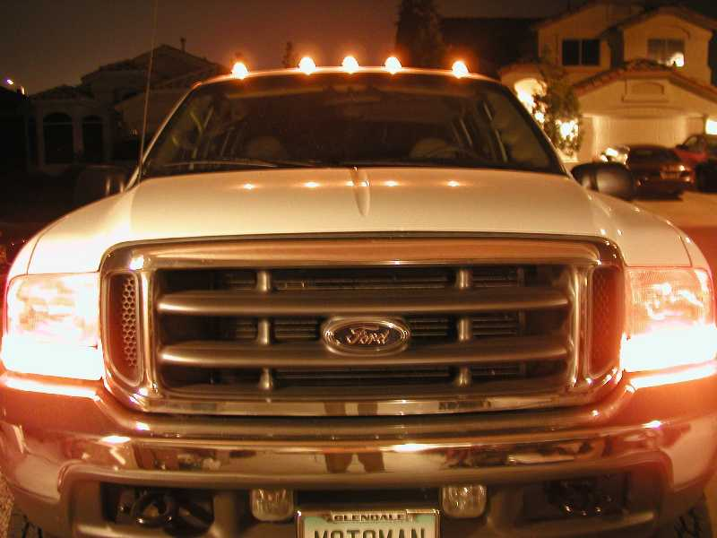 F250 Factory Clearance Light Install